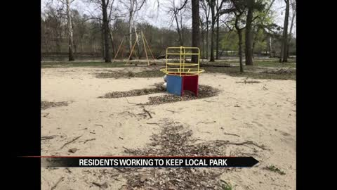 City of Niles residents working to keep local park